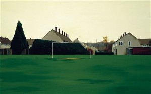 the goal mouth george shaw