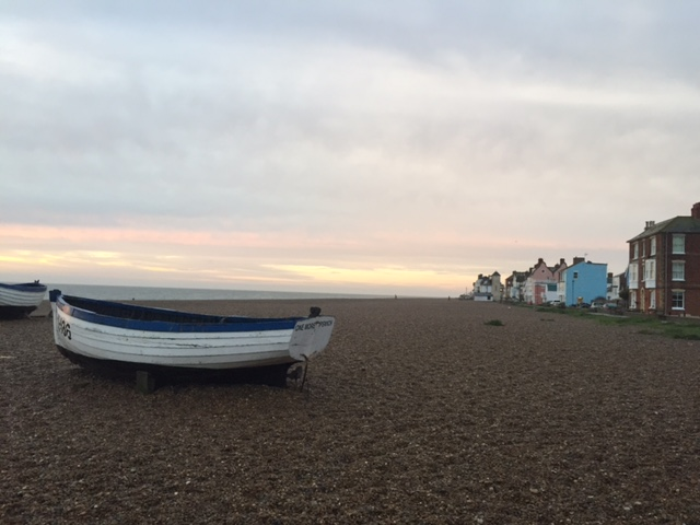 Re-entry -after the Aldeburgh Poetry Festival (2/5)
